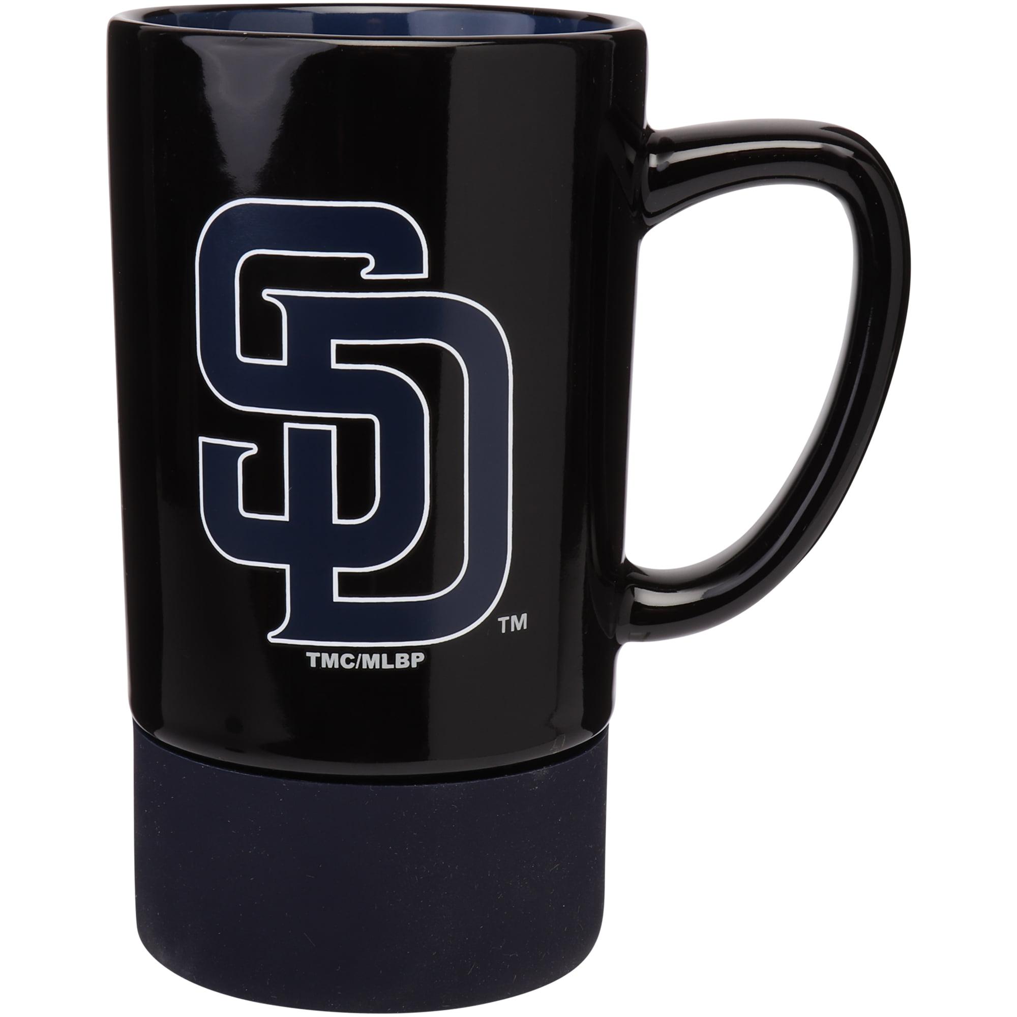 San Diego Padres 16oz. Coaster Mug - No Size