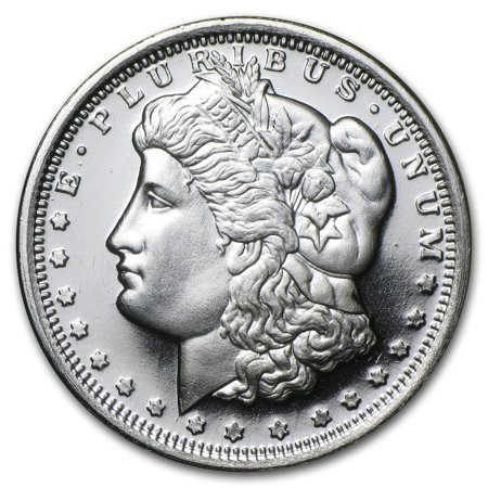 1/2 oz Silver Round - Morgan Dollar Design ()