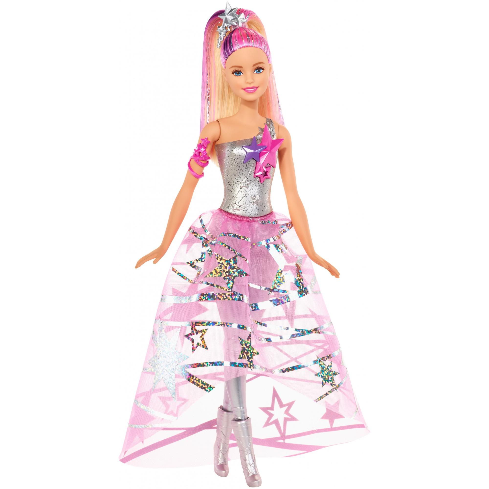 Barbie Star Light Adventure Gown Doll - Walmart.com