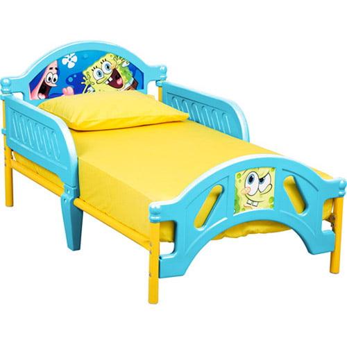 Nickelodeon - SpongeBob SquarePants Toddler Bed, 10th Anniversary Edition