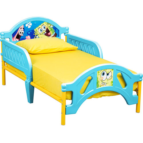 Nickelodeon - SpongeBob SquarePants Toddler Bed, 10th Anniversary Edition