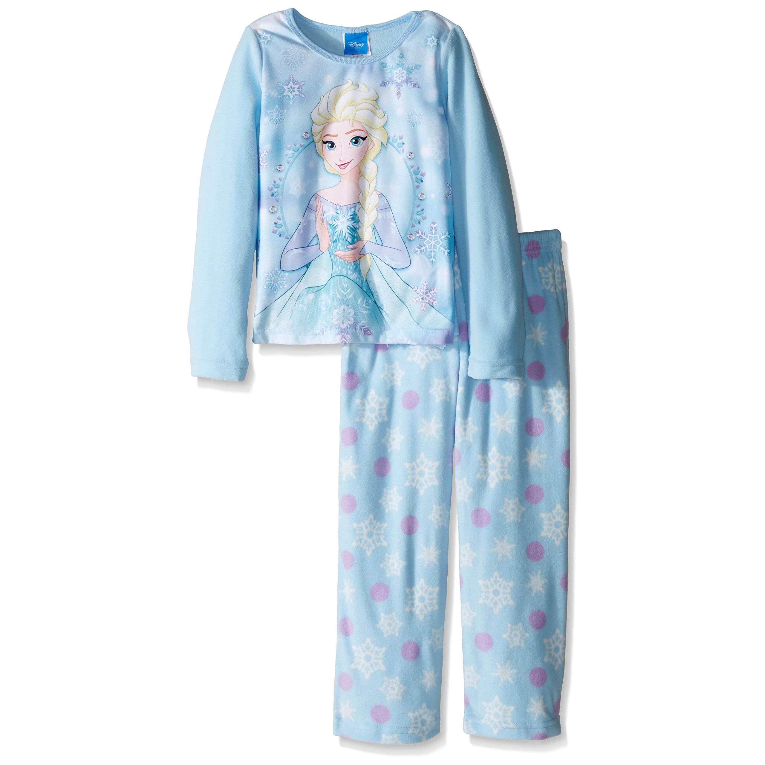 b6145a0f6 Disney Girls  Frozen Elsa 2-Piece Pajama Set
