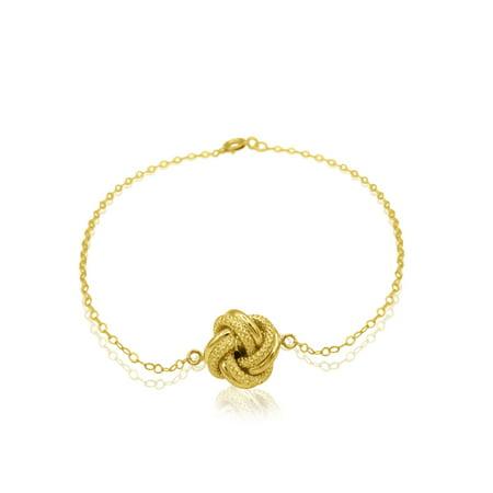 10kt Yellow Gold Love Knot Bracelet