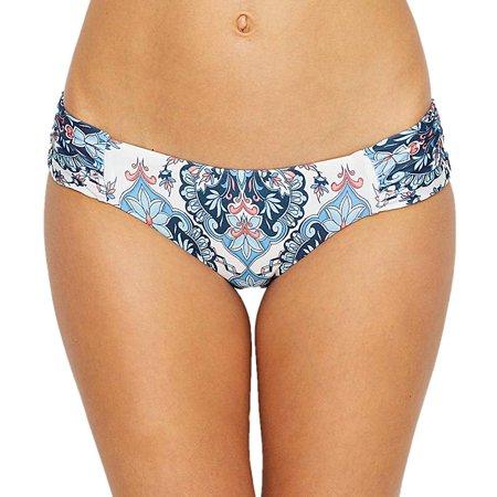 Becca Womens Swimsuit - Becca NEW Blue Womens Size Small S Bikini Bottom Reversible Swimwear