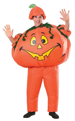 G013   Jack /'O Lantern Pumpkin Halloween Costume Adut Sizes