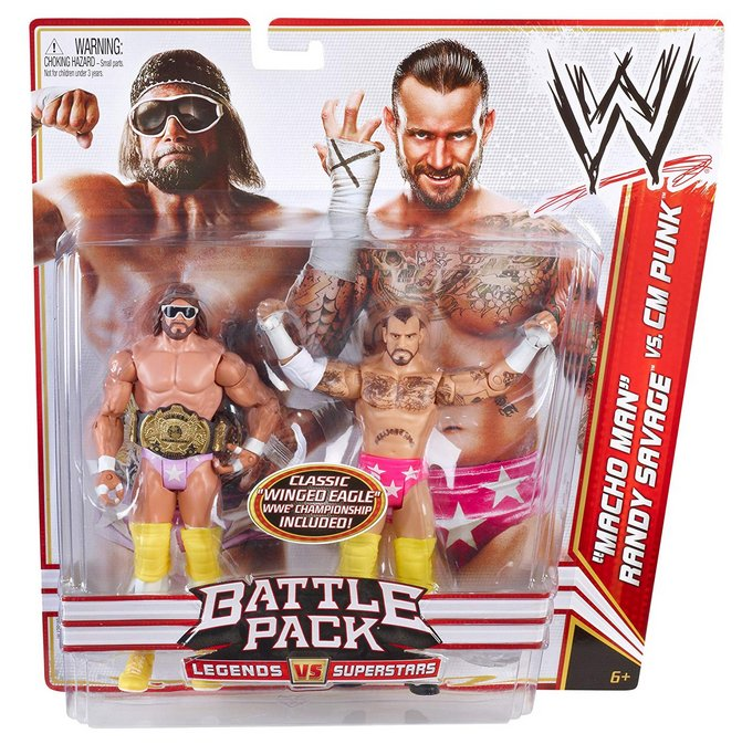 Champions Champion Collection Action Figure 4-Pack Set #3, Damaged