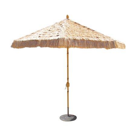Aluminum Bamboo Patio Umbrella
