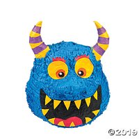 Monster Pinata (each) - Party Supplies