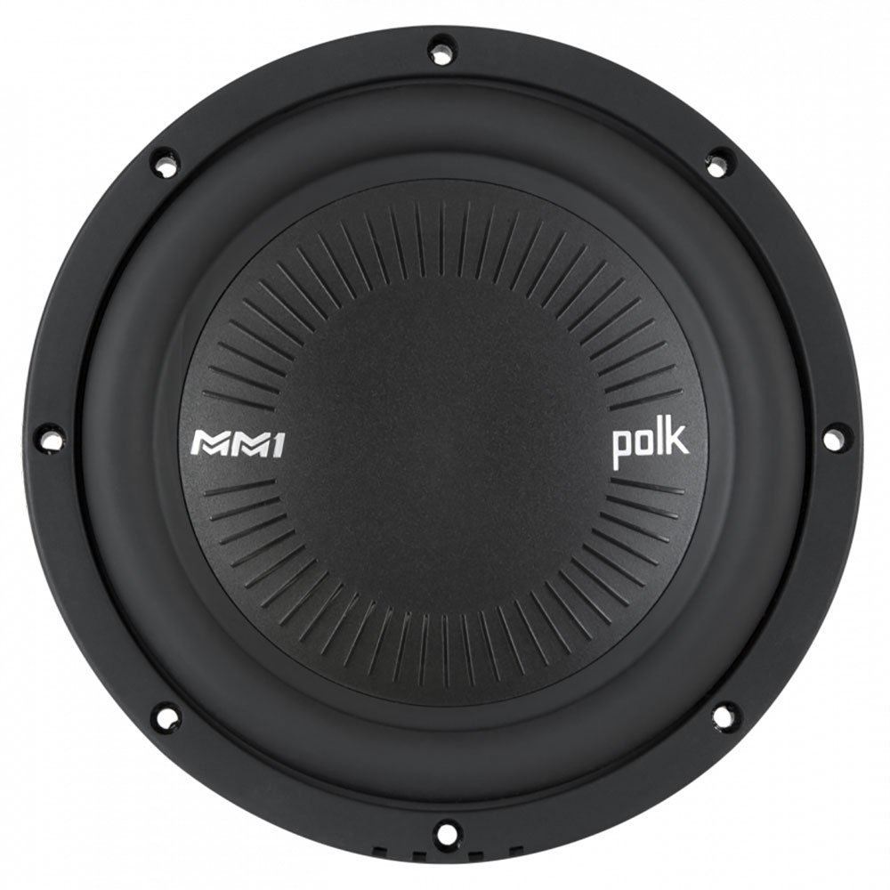 "Polk MM1 Series 8"" 900 Watt 4 Ohm Single Voice Coil Car Audio Marine Subwoofer"