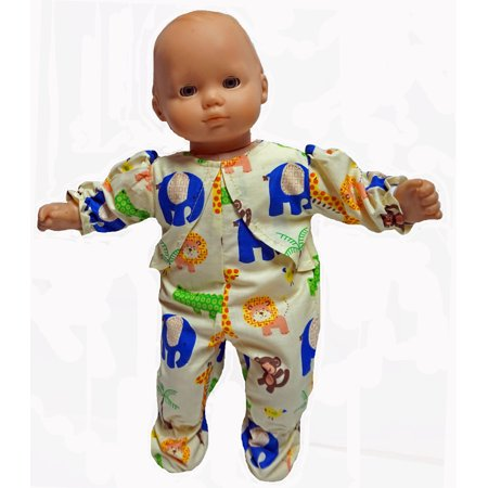 There's A Zoo Here Doll Clothing  Fits 15-16 Inch Boy Or Girl Baby -
