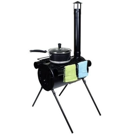 New Mtn G Portable Military Camping Wood Stove Tent Heater