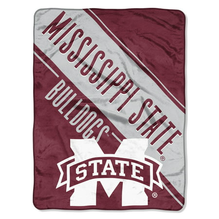 NCAA Mississippi State Bulldogs Section Micro Raschel 46