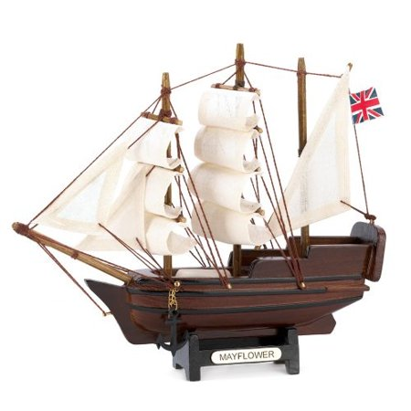 gifts & decor 14750 mini mayflower ship model -