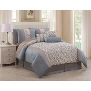 Paoula 11-piece Bed in a Bag with Sheet Set Cal King