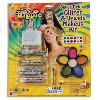 SUPER DLX HIPPIE MAKEUP KIT (Hippie Makeup Tutorial Halloween)