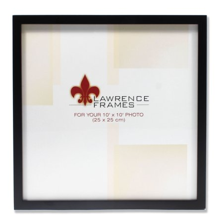755510 Black Wood 10x10 Picture Frame