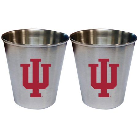 Indiana Hoosiers 2oz. Stainless Steel Collector Cups Two-Pack Set - No Size