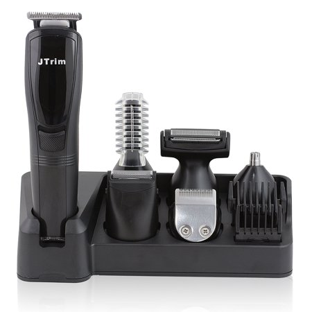 Jtrim Ultimate Progroomer 6 In 1 Grooming Kit For Men Body Groomer Beard Trimmer Hair Clippers Jpt Pg600 Jays Products