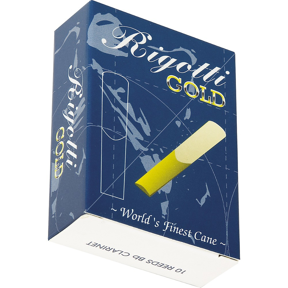 Rigotti Gold Clarinet Reeds Strength 3.5 Strong