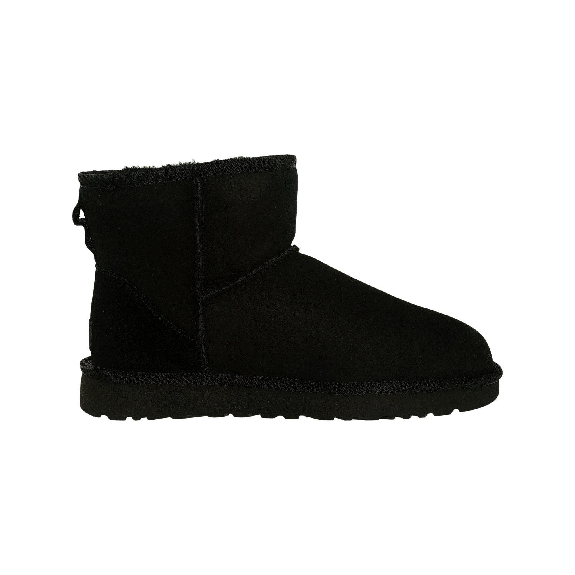 b8bcab10d61 Ugg Women's Classic Mini II Leather Black Ankle-High Suede Boot - 6M