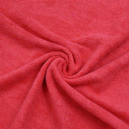 2pcs Violet Rouge Maison Voiture polissage nettoyage sèche-serviettes 33cmx65cm - image 4 de 5