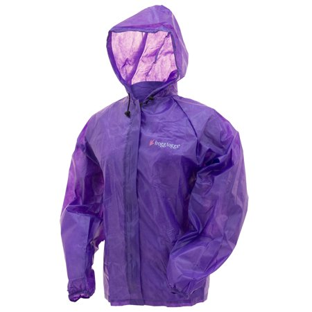 Frogg Toggs Emergency Jacket Large/X-Large, Purple