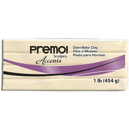 Premo Clay 1lb-Accents Pearl