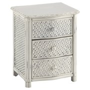 Home Styles Marco Island Night Stand, White Finish