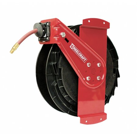 Reelcraft Rt650 Olpsm Side Mount 3 8 X 50Ft 300 Psi Air   Water With Hose