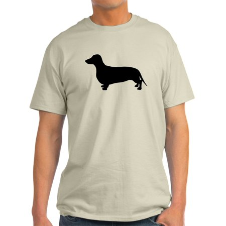 Dachshund Halloween Shirt (CafePress - Dachshund Silhouette - Light T-Shirt -)