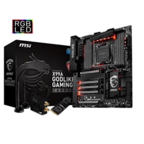 Msi X99a Godlike Gaming Carbon Desktop Motherboard - Inte...