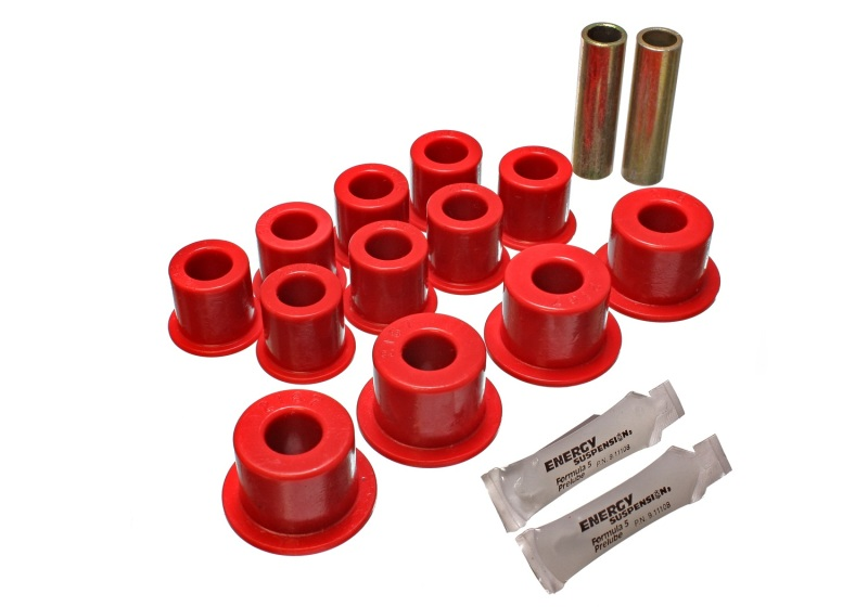Energy Suspension 3.2129R 2//4WD REAR SPRING BUSHINGS