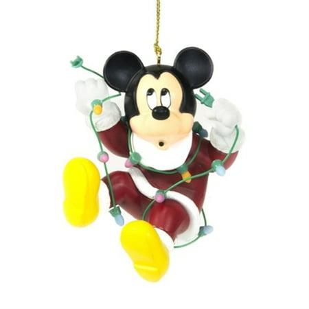 Aleko Disney Mickey Mouse Christmas Ornament Hanging - Mouse Christmas Ornaments