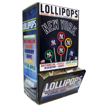 Small Lollipop 120-Count Gravity Feed MLB New York