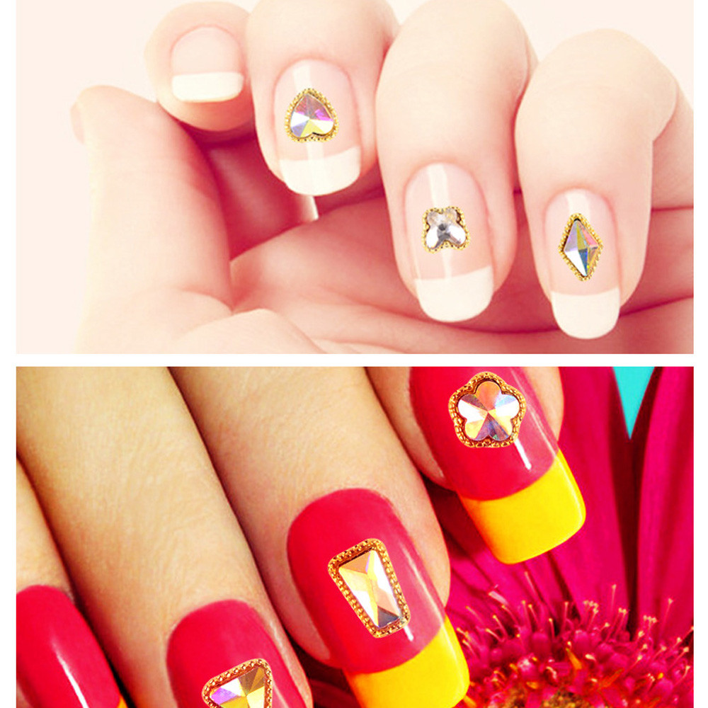 3D Decal Stickers Nail Art Tip DIY Decoration Stamping Manicure