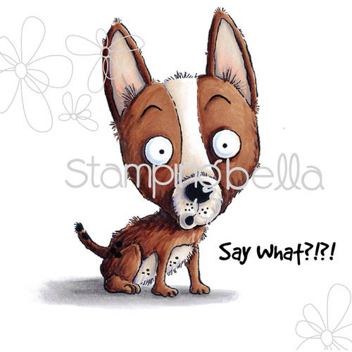 """Stamping Bella Cling Rubber Stamp, 6.5"""" x 4.5"""", Nacho"""