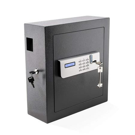 Viking Security Safe Key Cabinet Key Safe with Lockable Drop Slot 51 Key Capacity