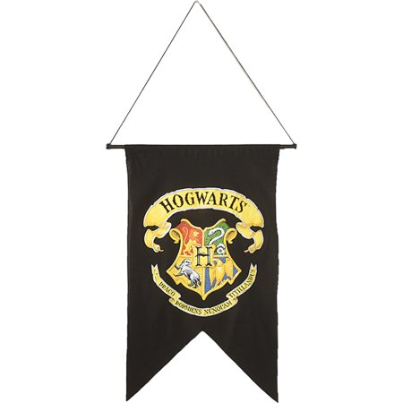 Morris Costumes Latin Phrase Halloween Party Polyester Hogwarts Banner, Style - Hogwarts Costumes