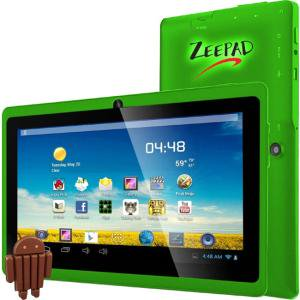 Zeepad 7Drk Q 4 Gb Tablet   7    Wireless Lan   Allwinner Cortex A7 A33 Quad Core  4 Core  1 80 Ghz   Green   512 Mb D
