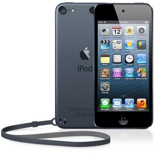 Apple iPod Touch 5th Generation 32GB Black and Slate-Acceptable Condition !