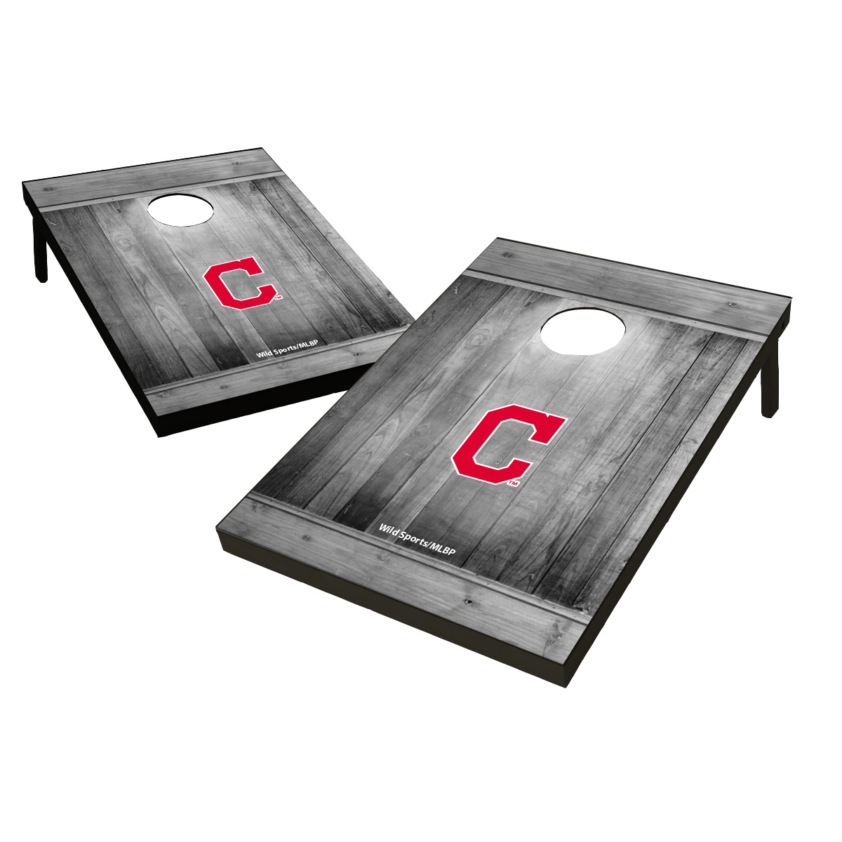 Tailgate Toss Wood MLB Cleveland Indians