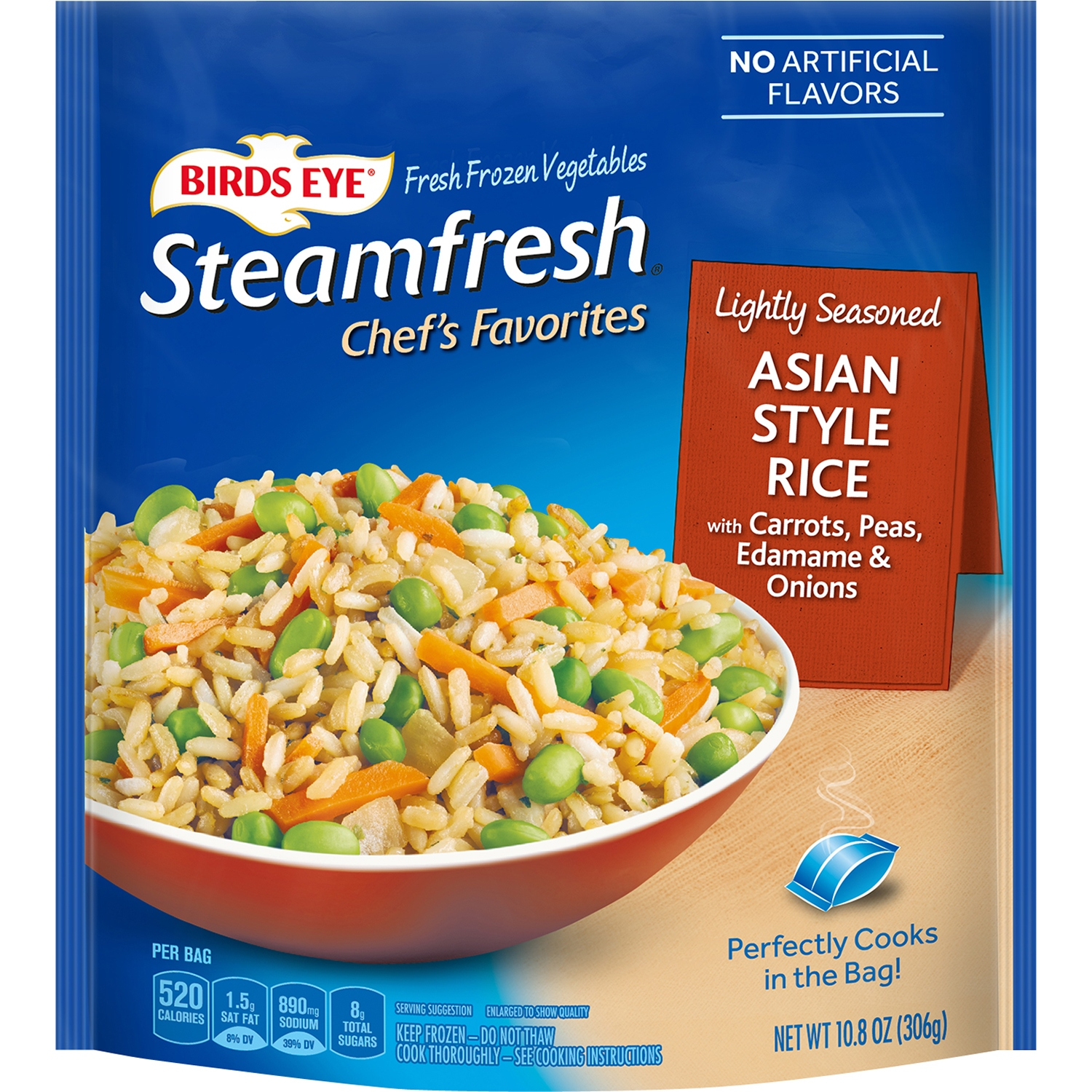 Birds Eye® Steamfresh® Chef\'s Favorites Asian Style Rice with ...