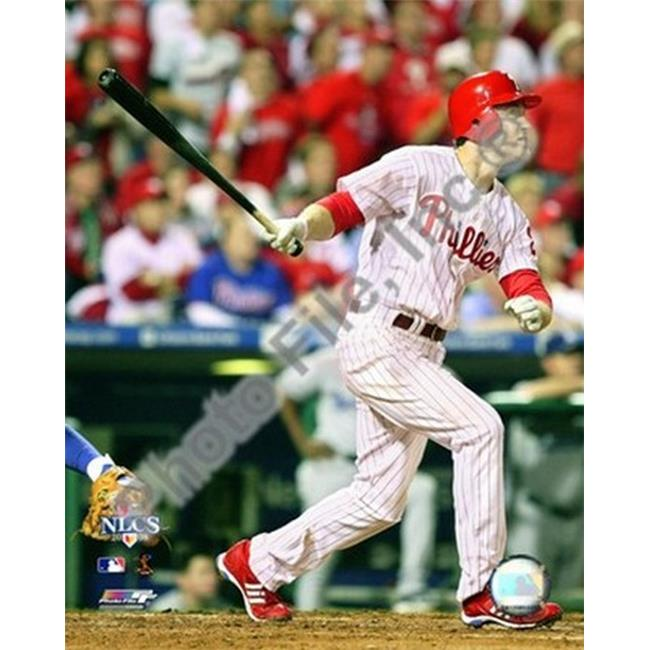 Photofile PFSAAKJ04101 Chase Utley 2008 NLCS Game 1 Home Run Sports Photo - 8 x 10
