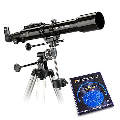Celestron PowerSeeker 70EQ with Skymaps Celestron PowerSeeker 70EQ Telescope