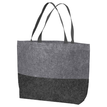 Port Authority Colorblock Large Felt Tote Bag