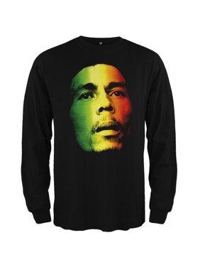 f8fcd4cedf7e56 Product Image Bob Marley - Face Long Sleeve T-Shirt