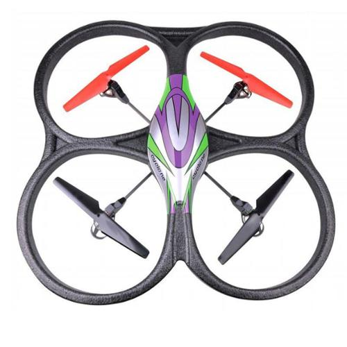 2.4Ghz 4ch V262 Big Size RC Quadcopter Drone with Gyro Radio Control UFO Flying Helicopter V262 Green