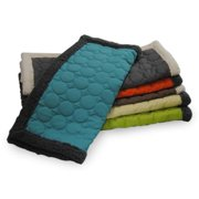 EZ Living Home  Circle Quilted Water-repellent Reversible Cotton Canvas Throw