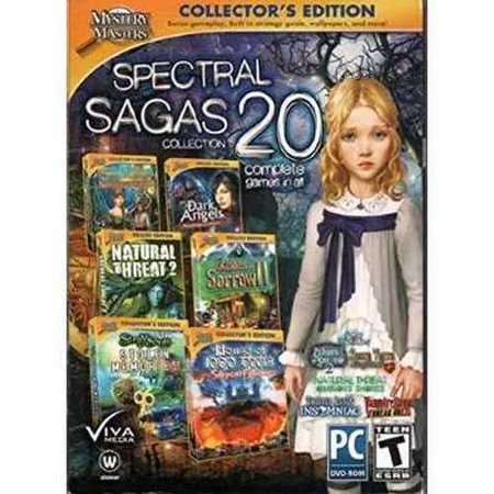 Mystery Masters SPECTRAL SAGAS Collection 20 Complete Hidden Object Games (Hidden Objects Computer Games)