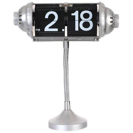 Maple's Table Flip Clock Flexible Goose Neck -